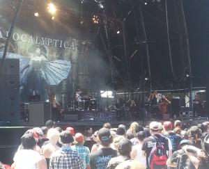 Apocalyptica - Soundwave Festival Sydney 2015