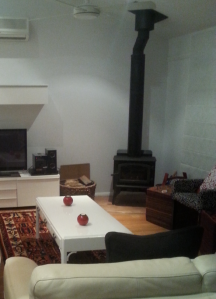 Our fireplace, before I